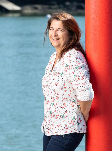 Joëlle Chevalier, réflexologue à Vannes